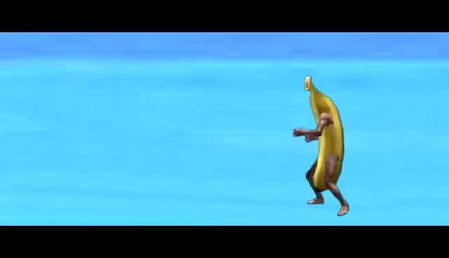 Ineffective, Kickboxing Banana's Special Attack GIFs