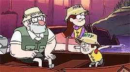Watch PINES PINES PINES! GIF on Gfycat. Discover more *gf, THESE BABS, bright colours//, dipper pines, gfedit, gravity falls, mabel pines, mine, stanford pines GIFs on Gfycat