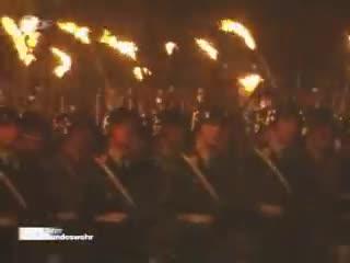 Bundeswehr, Grosser, Großer, Winnie9212, Zapfenstreich, ceremony, german, military, music, taptoe, Einmarsch Großer Zapfenstreich 50 Jahre Bundeswehr GIFs