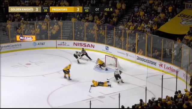 Watch Full OT: Golden Knights @ Predators GIF by Beep Boop (@hockeyrobotthing) on Gfycat. Discover more hockey GIFs on Gfycat