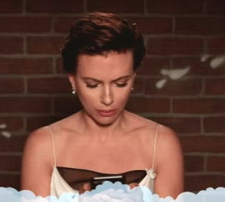 Watch and share Scarlett Johansson GIFs by Reactions on Gfycat