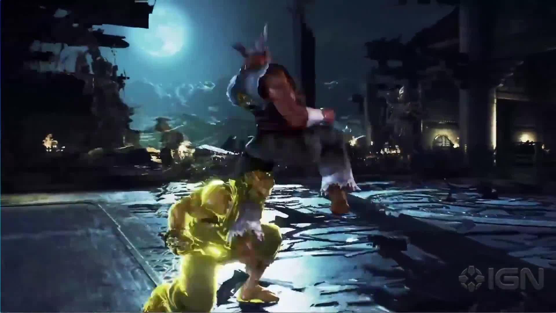 Arcade, Bandai Namco Games, Fighting, Gameplay, IGN, PC, PS4, Tekken 7, Xbox One, games, Tekken 7 - Geese Howard Gameplay With Katsuhiro Harada and Michael Murray GIFs