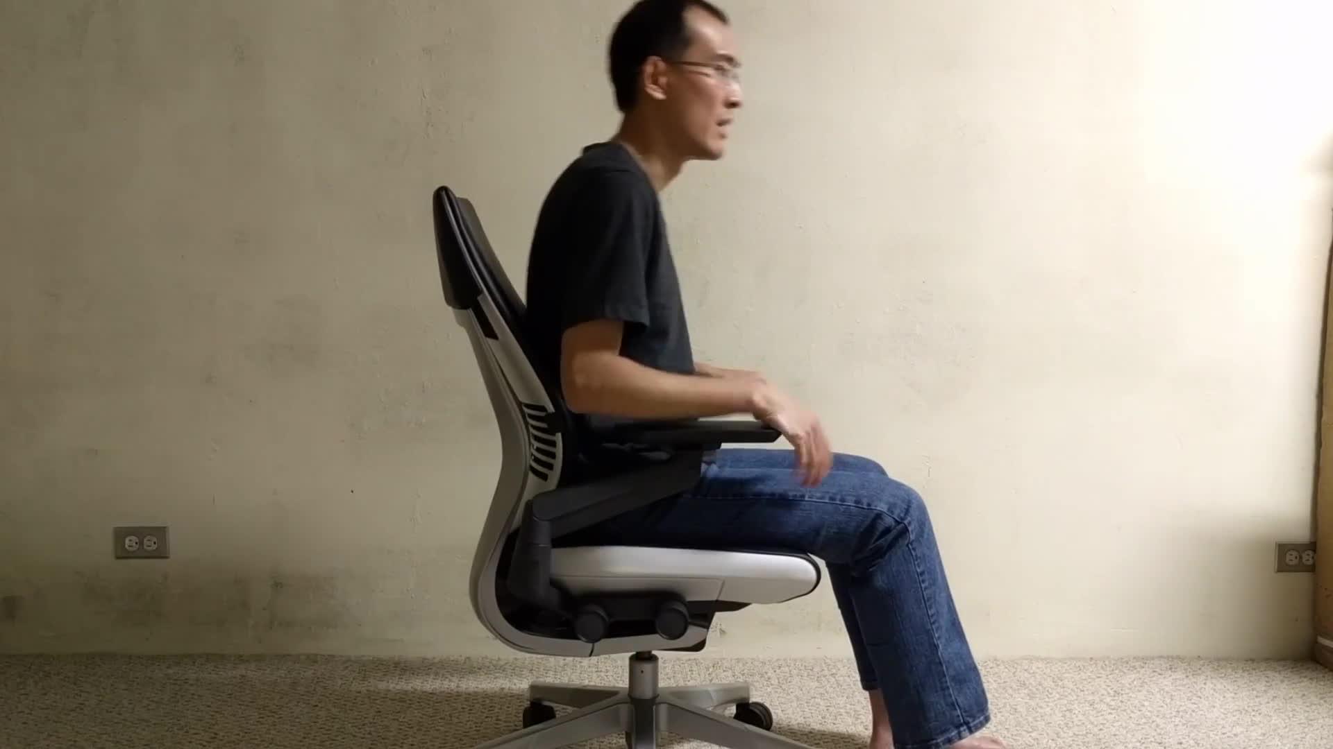 Steelcase Gesture Chair   Flexible Back   Find, Make U0026 Share Gfycat GIFs