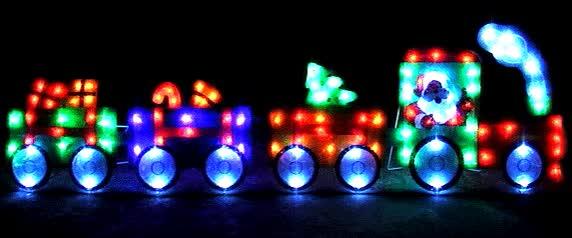 Watch and share Animated Christmas Train Lights GIFs on Gfycat