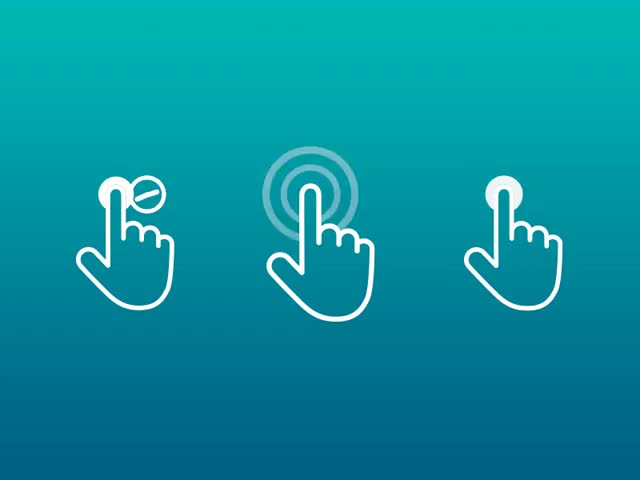 Watch and share Freebie: 100+ Touch Gestures Icons GIFs on Gfycat
