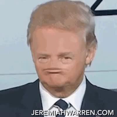 nonose, president, trump, No nose Trump 2016 GIFs