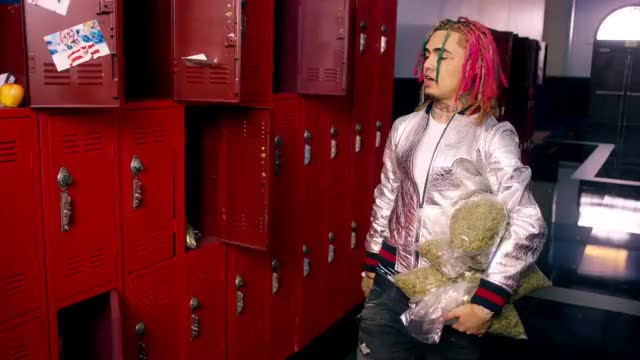 "Watch and share Lil Pump - ""Gucci Gang"" (Official Music Video) GIFs on Gfycat"