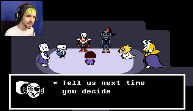 Watch and share I DON'T WANT TO BE ALONE! | Undertale #10 (END) GIFs on Gfycat