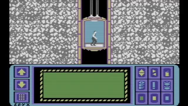 Watch and share Impossible Mission - C64 GIFs by Haikuwoot on Gfycat