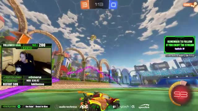 Watch and share Kissetv Playing Rocket League - Twitch Clips GIFs on Gfycat