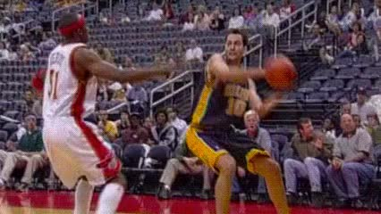 Watch Reggie Miller and Jermaine O'Neal, Indiana Pacers GIF by Off-Hand (@off-hand) on Gfycat. Discover more related GIFs on Gfycat