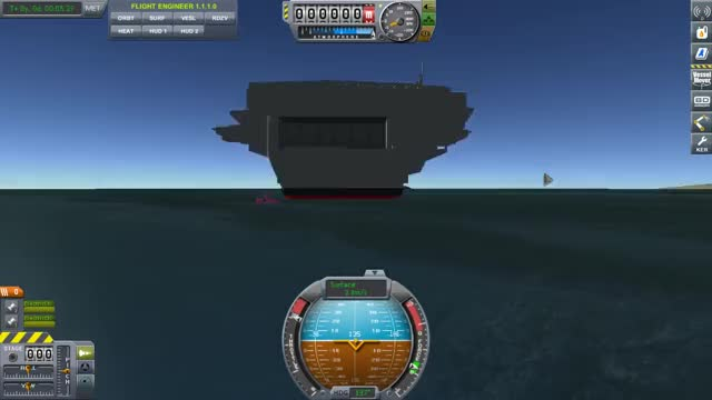 Watch and share [KSP] The USS Nimitz Embarking On It's Voyage GIFs by unknown9593 on Gfycat