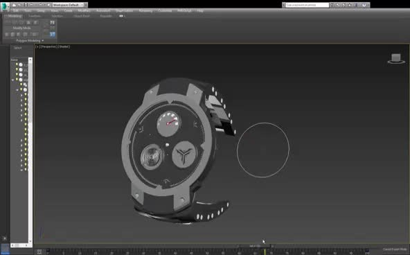 Watch Project | 3Ds Max GIFs