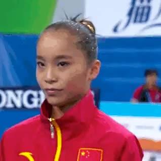 Nanning 2014 UB EF finalists:1. Yao Jinnan (CHN): 15.633 (6.