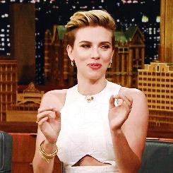 gaby, gif, gifs, johanssonedit, marvelcastedit, scarlett johansson, scarlettedit, sjohanssonedit, tv show, Scarlett Johansson Daily GIFs
