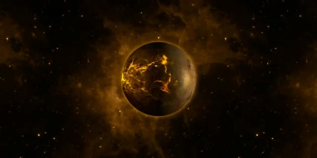 planets exploding gif - 640×320