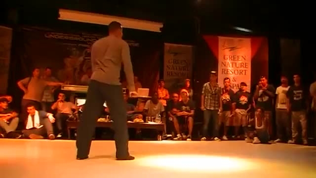 Nelson(France) vs ALG(Russia) semifinal popping battle UFB