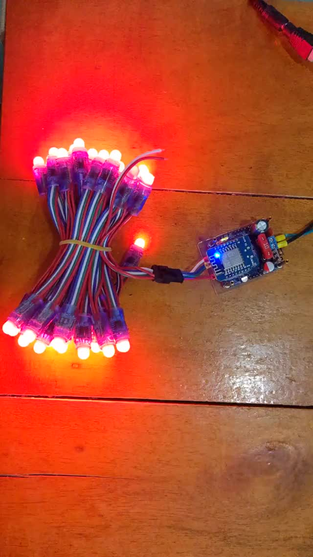 Watch and share Led String GIFs and Ws2811 GIFs by accelle on Gfycat