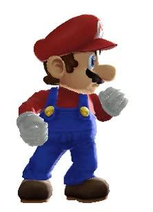 Watch and share Fighting Stance GIFs and Super Mario GIFs on Gfycat