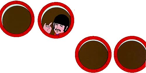 Watch the beatles are watching your blog [x] GIF on Gfycat. Discover more related GIFs on Gfycat