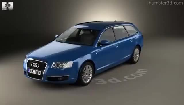 Watch and share Audi A6 (C6) Avant 2005 3D Model By Humster3D.com GIFs on Gfycat