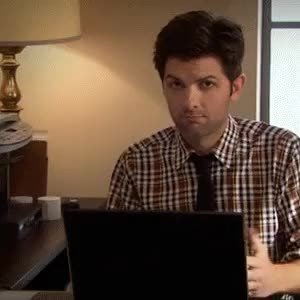 Watch this GIF on Gfycat. Discover more Adam Scott, askreddit, reactiongifs GIFs on Gfycat