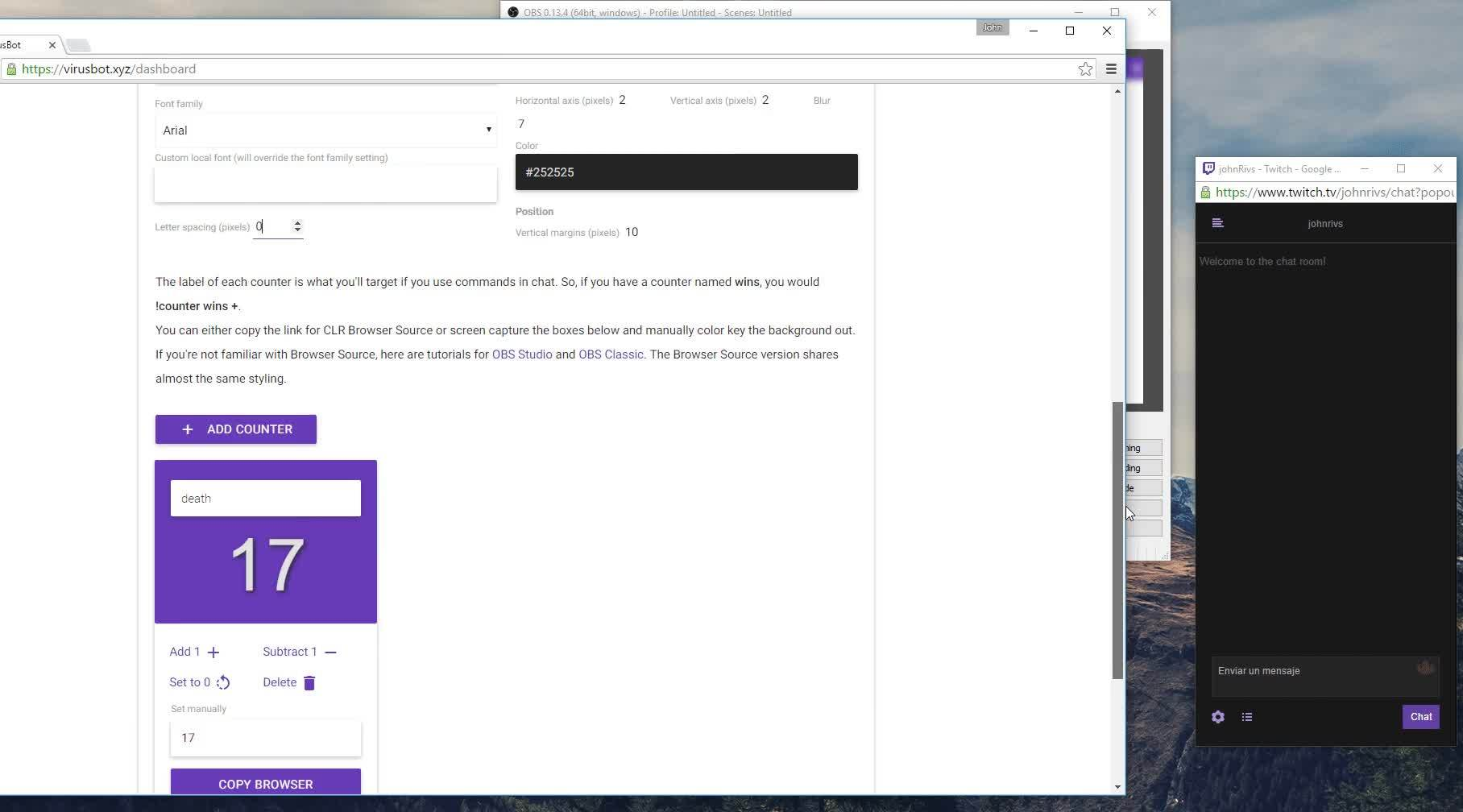 Chat Browser Source
