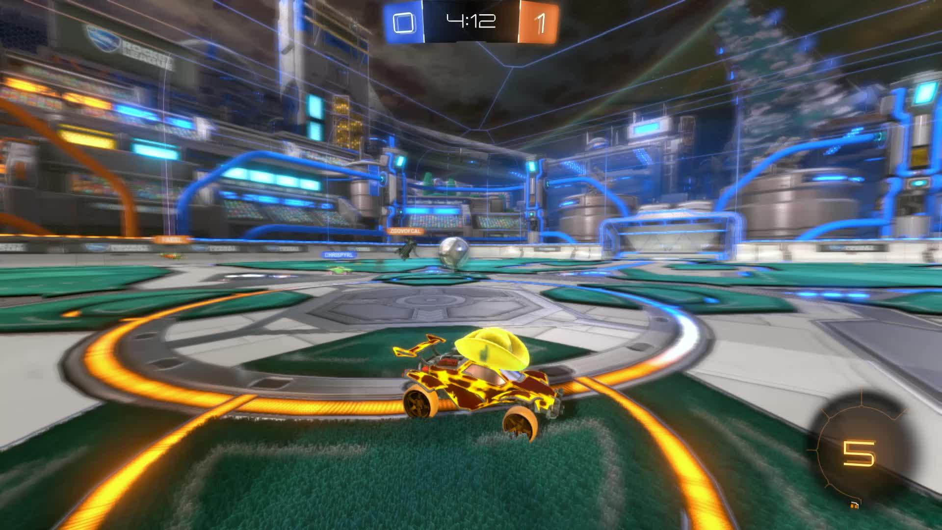 Gif Your Game, GifYourGame, Goal, Reaper, Rocket League, RocketLeague, Goal 2: Post Hero GIFs