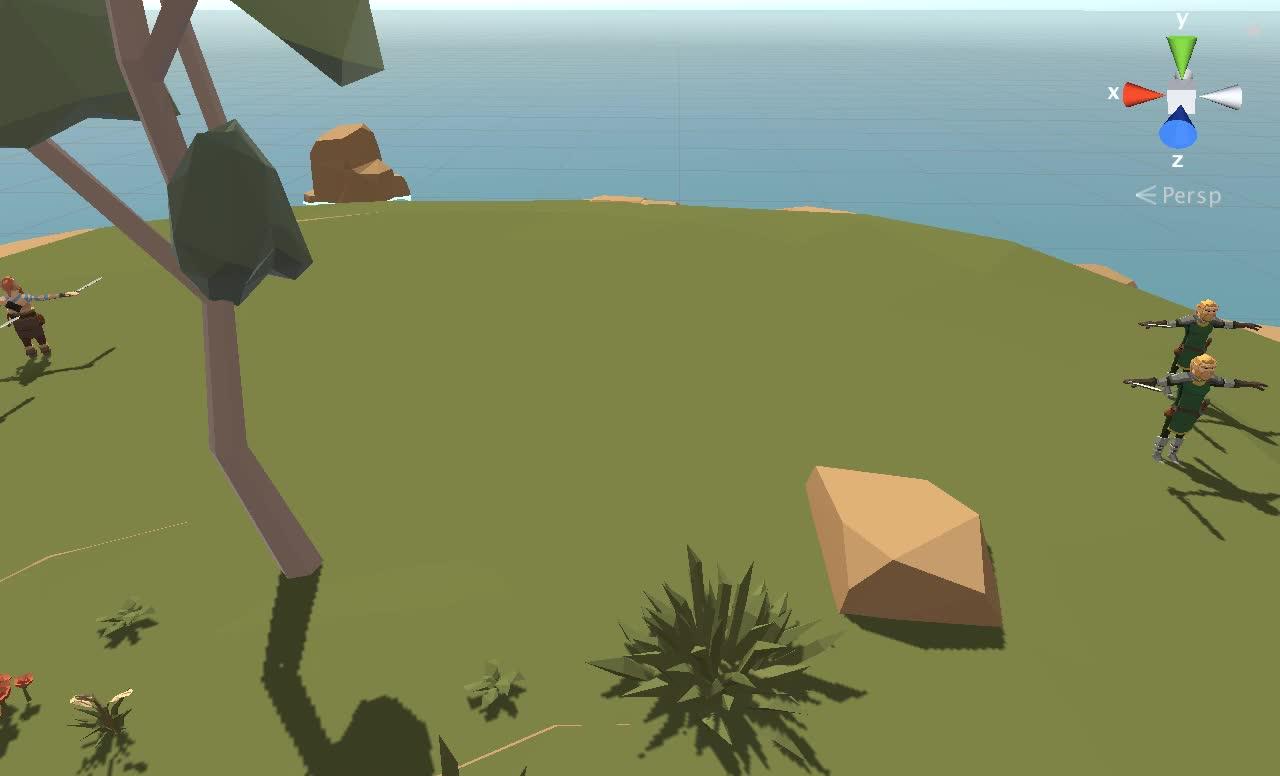 Unity3D, Army GIFs