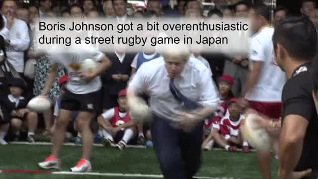 Watch and share Boris Johnson GIFs and Bojo GIFs on Gfycat