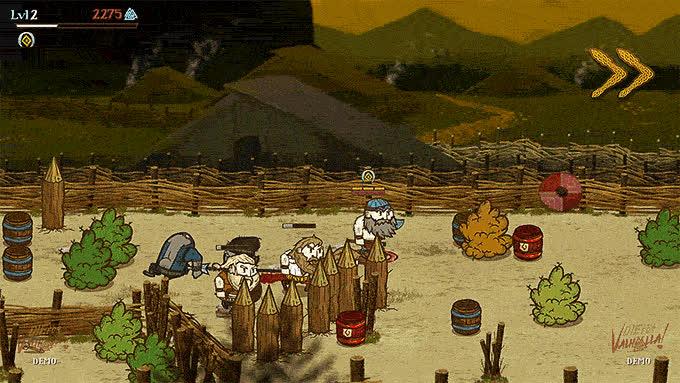 dieforvalhalla, gaming, vikingstv, Watch Vikings die in Die for Valhalla! GIFs