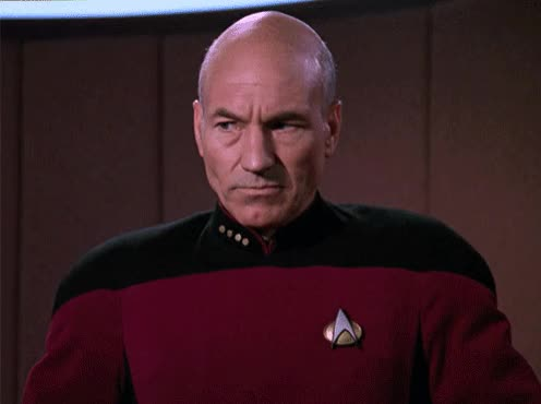 Watch and share The Next Generation GIFs and Patrick Stewart GIFs by Star Trek gifs on Gfycat