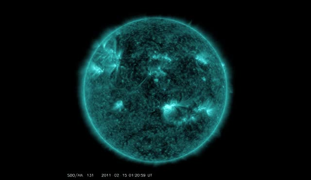 Watch X-class flare - 2011 GIF by The Watchers (@thewatchers) on Gfycat. Discover more related GIFs on Gfycat