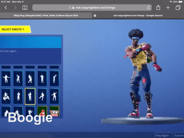 Watch Fortnite GIF by Ninja Dog (@kayden100) on Gfycat. Discover more related GIFs on Gfycat