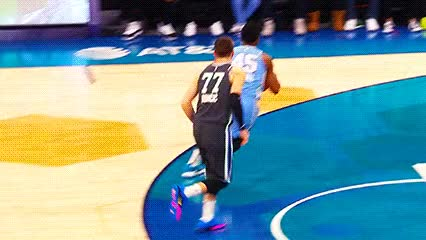 Watch and share Donovan Mitchell And Kyle Kuzma — 2019 Rising Stars Challenge GIFs by Off-Hand on Gfycat