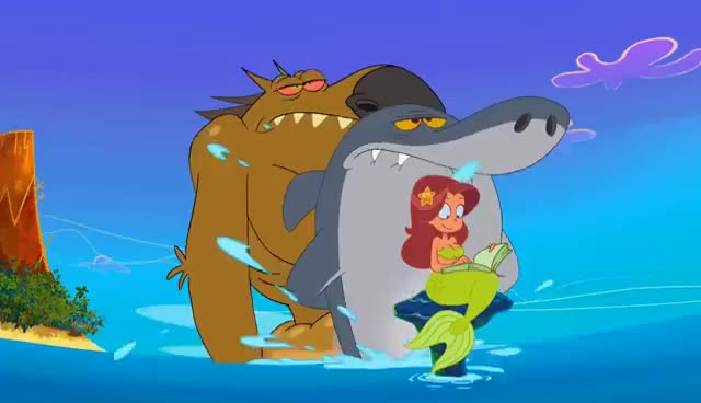 Watch and share Zig & Sharko - The Were-Yena (S01E67) _ Full Episode In HD GIFs on Gfycat