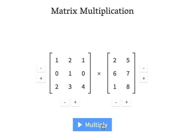 Watch and share Matrix Multiplication - Source: André Staltz GIFs by davidtriphon on Gfycat