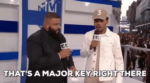 dj khaled, key, keys, major key, major key alert, That's a major key right there - DJ Khaled GIFs