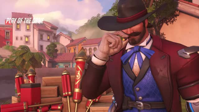Watch and share Overwatch GIFs and Mccree GIFs by Cringu on Gfycat
