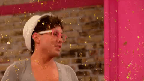 celebrate, confetti, dance, excited, glitter, happy, phi phi ohara, rupauls drag race, yas, yas queen, yes, Phi Phi O'Hara Celebrate GIFs
