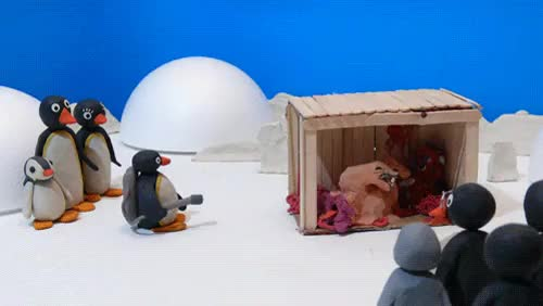 Watch and share Pingu GIFs on Gfycat