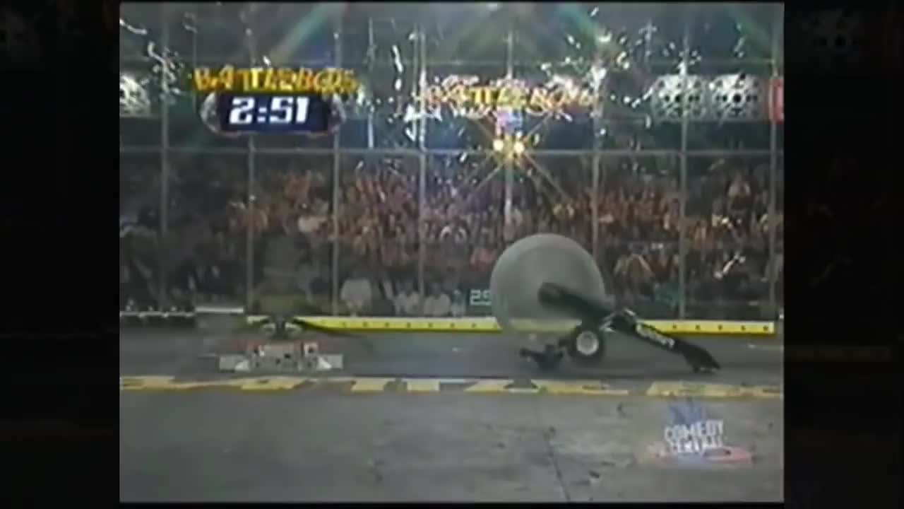 battlebots, heavyweights, nightmare, BattleBots S1-7 - All Fights of Nightmare GIFs