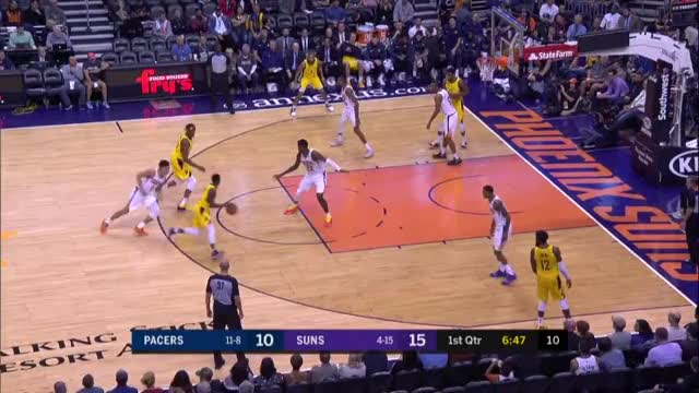 Watch and share Indiana Pacers GIFs and Phoenix Suns GIFs by kblaze8855 on Gfycat