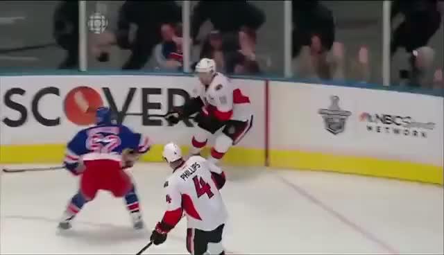 Watch Hagelin hits Alfredsson GIF on Gfycat. Discover more hockey GIFs on Gfycat
