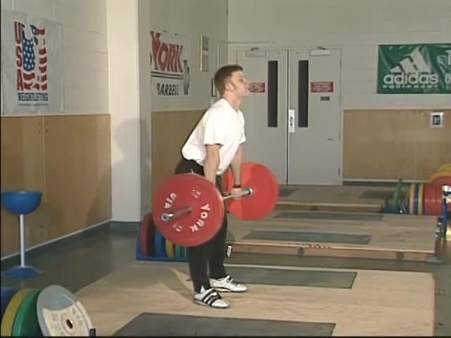 lifting, olympic, sport, BB RDL - USA Weightlifting GIFs
