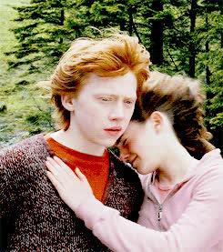 hug, sad ron GIFs