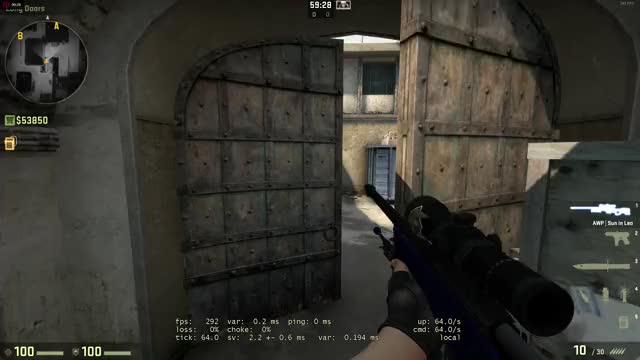 Watch and share Smoke From Long Doors To CT Spawn GIFs on Gfycat