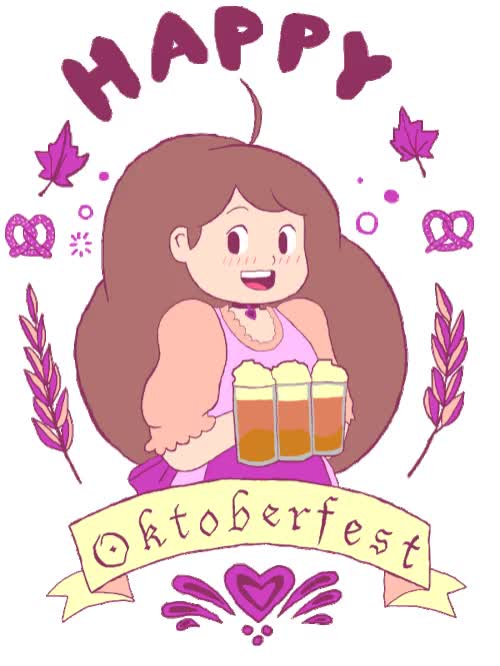 Watch and share Oktoberfest GIFs by Cartoon Hangover on Gfycat
