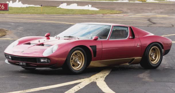 Watch RM Arizona 2015 Supercars – 1971 Lamborghini Miura SV Jota GIF on Gfycat. Discover more related GIFs on Gfycat