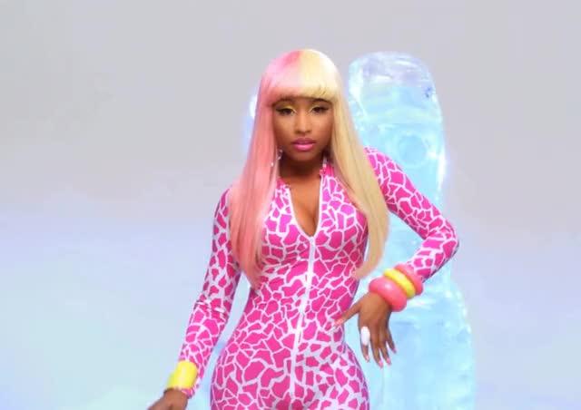 Watch and share Nicki Minaj GIFs by shapesus on Gfycat